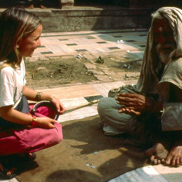 I can't bear to see suffering in the world...when I was about 7 years old and we were living in India I met many beggars, different from the people we may label bums or homeless, people of all ages, starving on the streets because they were raised as...