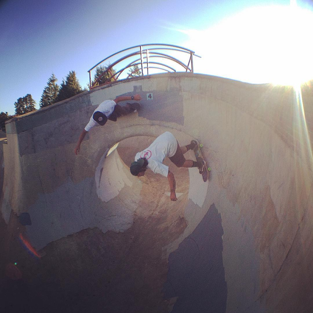 The #flyinghawaiians @radicalsmith and #bruddah @captainkoa #florenceskatepark #sk8north