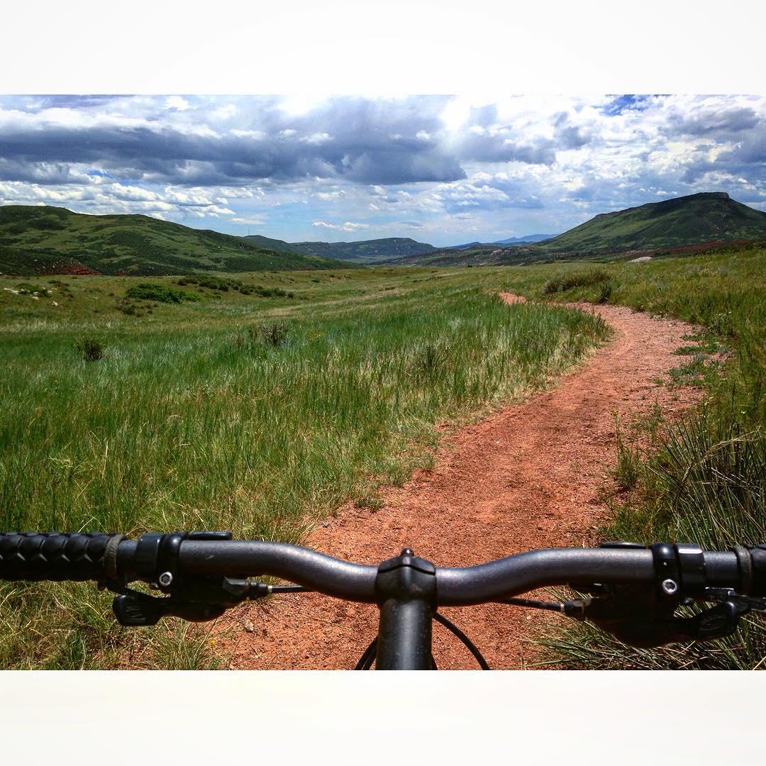 Exploring Northern Colorado alone on a bike. Pretty rad!