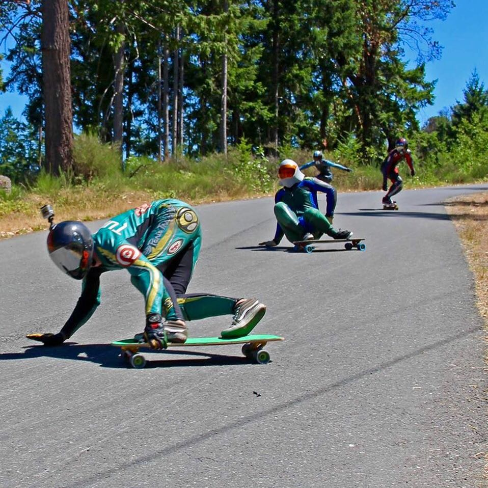 @troy_yardwaste out in front all the way to victory! Troy took first place at the Salt Spring Slasher the other weekend.