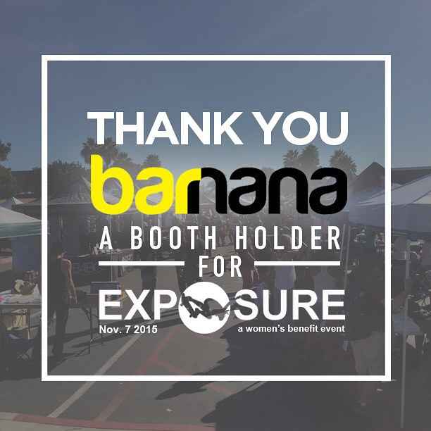 Thank you to @eatbarnana confirmed to have a booth at Exposure 2015!! There are plenty of partnership opportunities still available, email partnerships@exposureskate.org to find out how you can help empower girls through skateboarding!