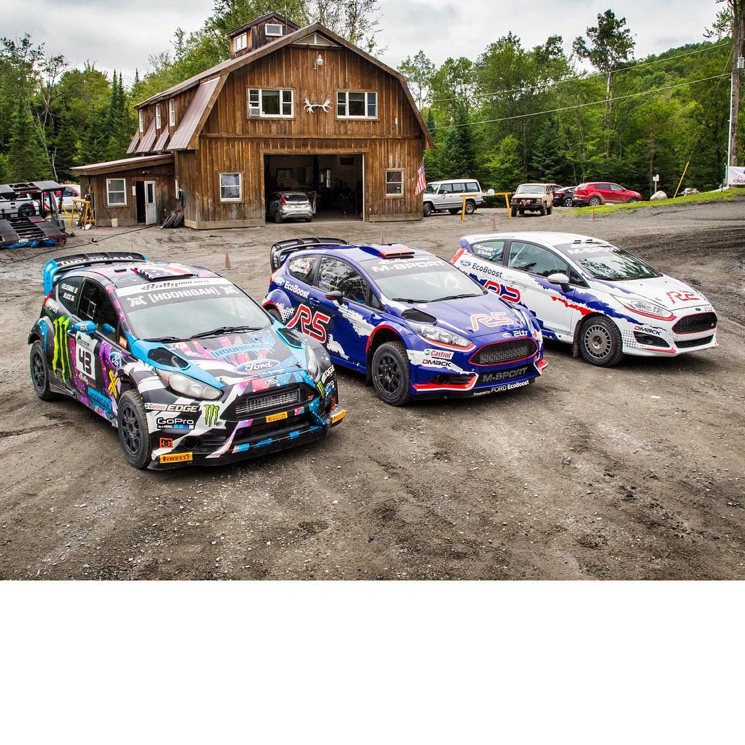 It's been an awesome two days of testing these three different flavors of Ford Fiesta, with drivers @RLrally (in the R5) and @brendorally (in the R2). @MSportLTD has really done an amazing job on the R5 and R2, I'm stoked to see how these cars will do...