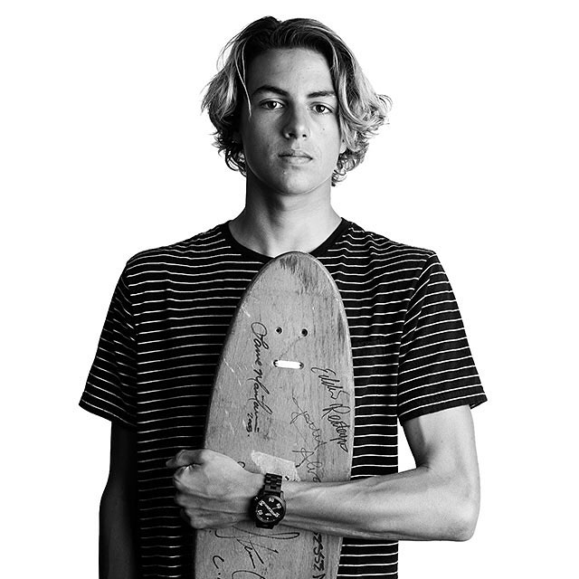 Welcome the new. Introducing the #Ranger 40 featuring @currencaples. Driven by passion and paving the way for others to follow, #Nixon invites you to view the new for fall and watch Curren's story.
