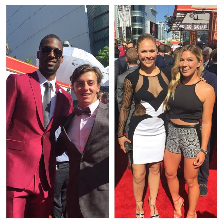 The stars are out in LA! #ESPYS