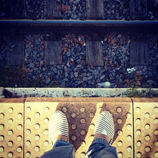 Get off the train and find your own way. Ph @choique #dreamjumpers #paezshoes #paez