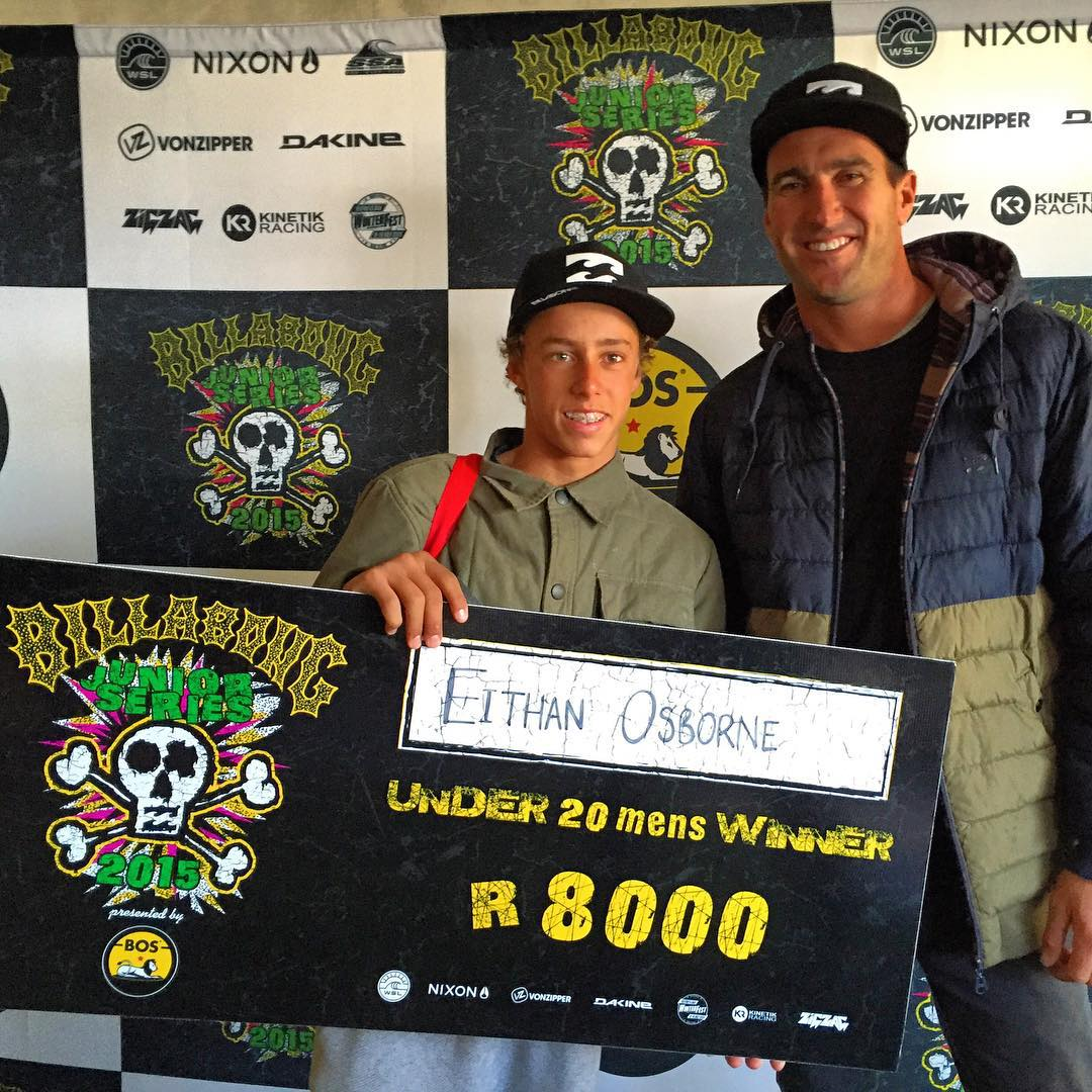 @eithanosborne is your #BillabongJnr Champion in JBay, South Africa! Congrats, Eithan! #Billabongbloodlines