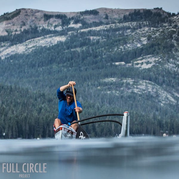 Support #HighFivesAthlete @grantkorgan as he breaks 3 WORLD RECORDS circumnavigating Lake Tahoe in an Outrigger Canoe! http://ow.ly/PEDa4 #H5FullCircle