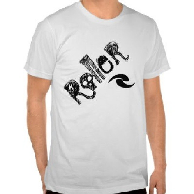 "Men's ""Roller"" Tee.  Can be found on www.rollerinnovations.com."