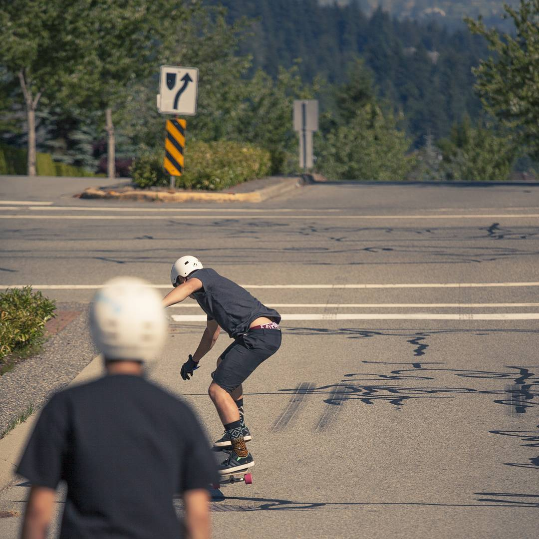 @alexgibbison immediately regretting challenging @mikefitter to an ollie contest before dropping into a run in #beautifulbc
