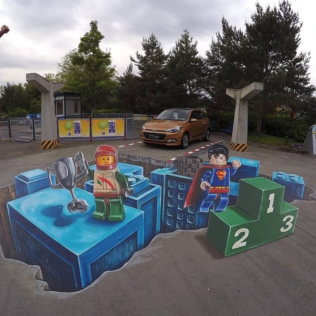 Everything is awesoooome #lego #graffiti #urbanart #streetart