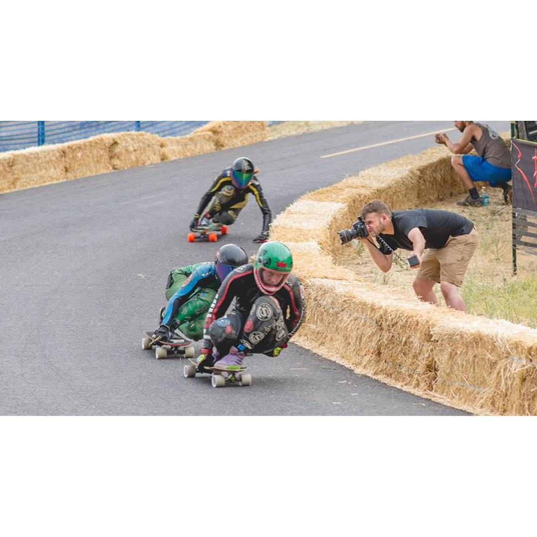 Go to longboardgirlscrew.com and check the official video of Maryhill's Festival of Speed 2015 by Yvon Labarthe @yvonvite. Simple AMAZING.  Simon Lee photo.  #longboardgirlscrew #womensupportingwomen #skatelikeagirl #girlswhoshred...
