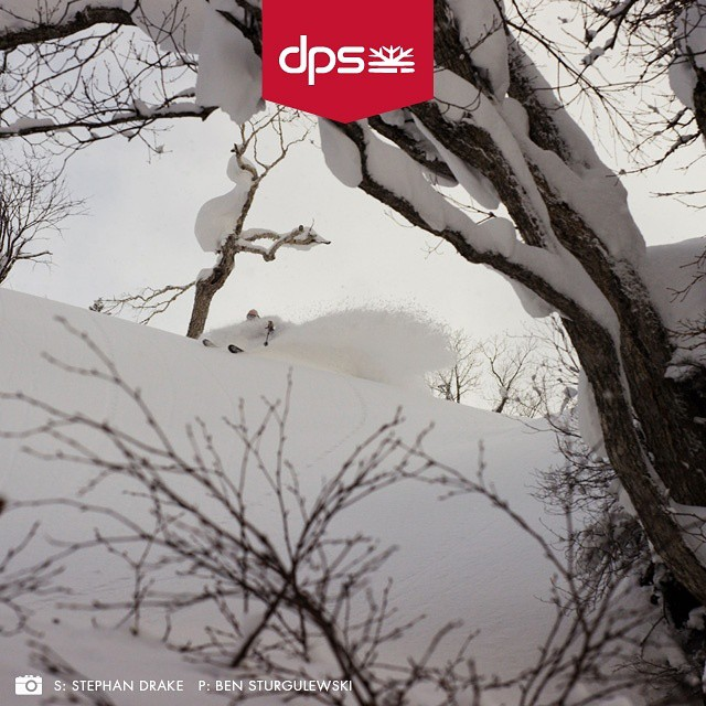 DPS' Stephan Drake on Spoons in Japan. Visit the link in our profile to learn more about DPS' annual #Dreamtime event, July 15-August 1. #dpsskis #DPSCinematic #skiing #skis