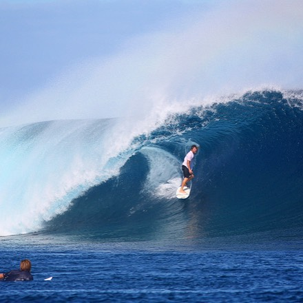 Is there somewhere you'd rather be right now? @rickywhitlock in the spot at Cloudbreak.