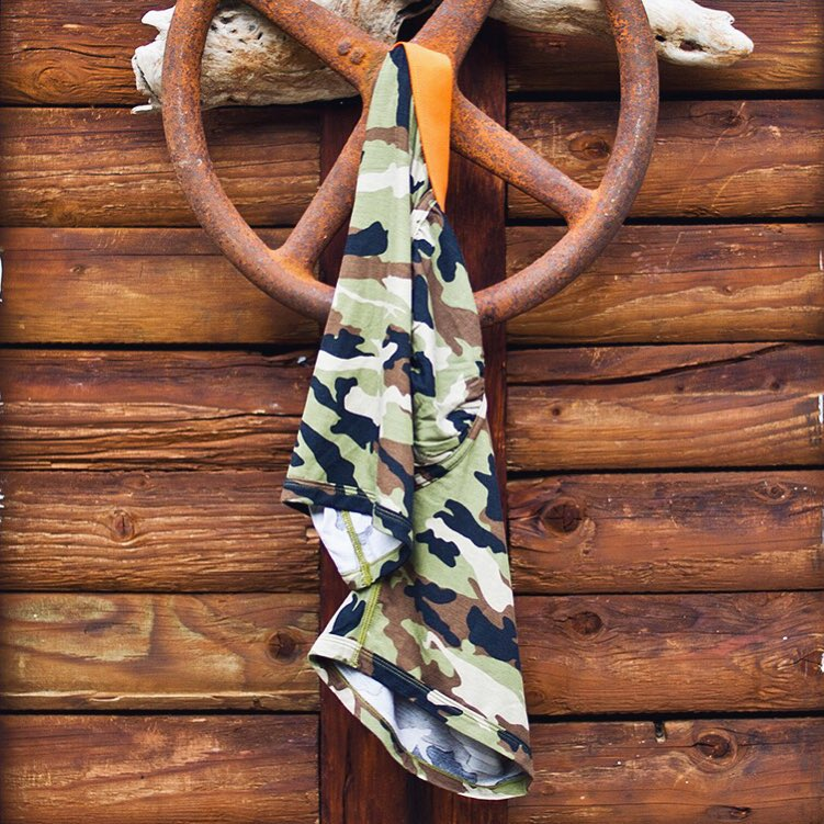 Blend in or stand out. #camo  www.mypakage.com