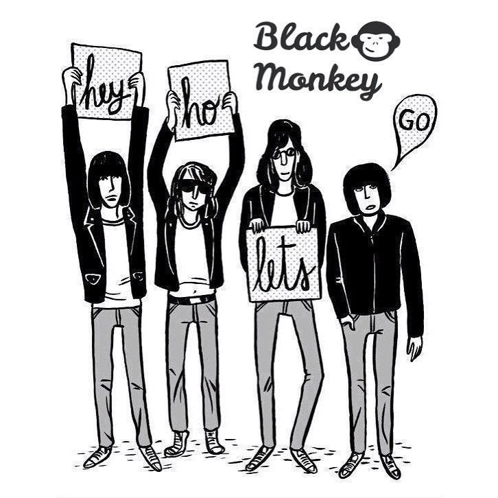 Viernes y comienzo de las vacaciones de invierno!! A Rockearla, Hey Ho Lets Go!! #blackmonkey #friday #winter #alpargatas #diseño #rock #theramones #calzado #colores #fashion #followus #style #argentina #enjoy #live