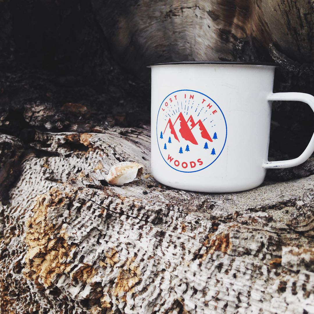We are stoked to announce a collab we did with local coffee chain @woodscoffee // we want to see you adventuring with this awesome enamel mug // tag @woodscoffee @disidual and hash tag #lostinthewoods for a chance to win a $75.00 gift card to our...