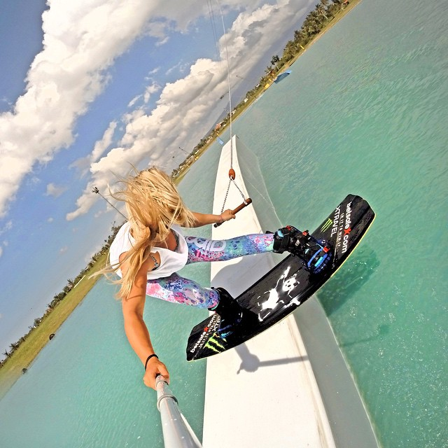 @wakecarro pressing out a backside lipslide. GoPro HERO4 | GoPole Reach #gopro #gopole #gopolereach #wakeboarding