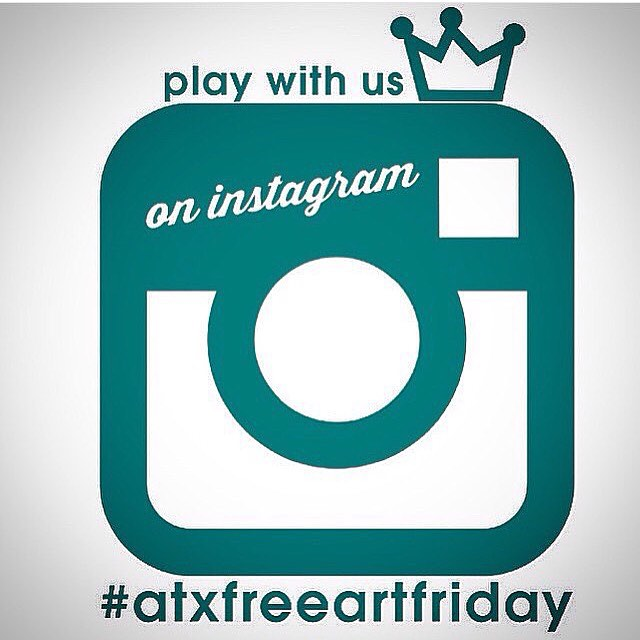Happy #atxfreeartfriday • • Tap the pic to see who is hiding! ?s check out www.atxfreeartfriday.com • • #atx #austintx #texas #tx #spratx