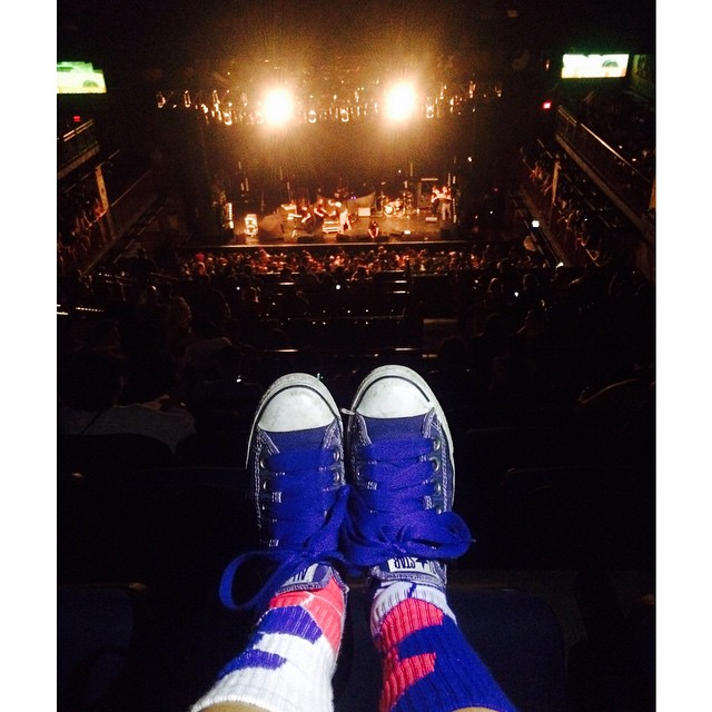 Rockin #neonbandits at @hobboston tonight. Bring on #awolnation #paradeoflights and #familyoftheyear. #Music #Tunes #Fashion #Boston #SockGame #Lifestyle #HouseOfBlues