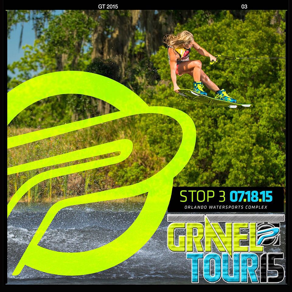 @dallasfriday will be at @perfski 's #graveltour this Saturday. Dallas was recently featured in @espn 's #bodyissue, come out and enjoy the day. Riding starts at 9 am. #ronix2015 #ridecamber #thelimelight #oneloveinwake #womenofronix...