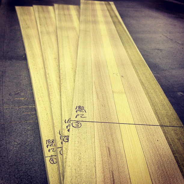 All wood is NOT created equal, that is why we take the time to hand select each and every piece of #poplar #maple and #bamboo that make up our ski cores. #nofingerjoints #nojunk #madeintheUSA