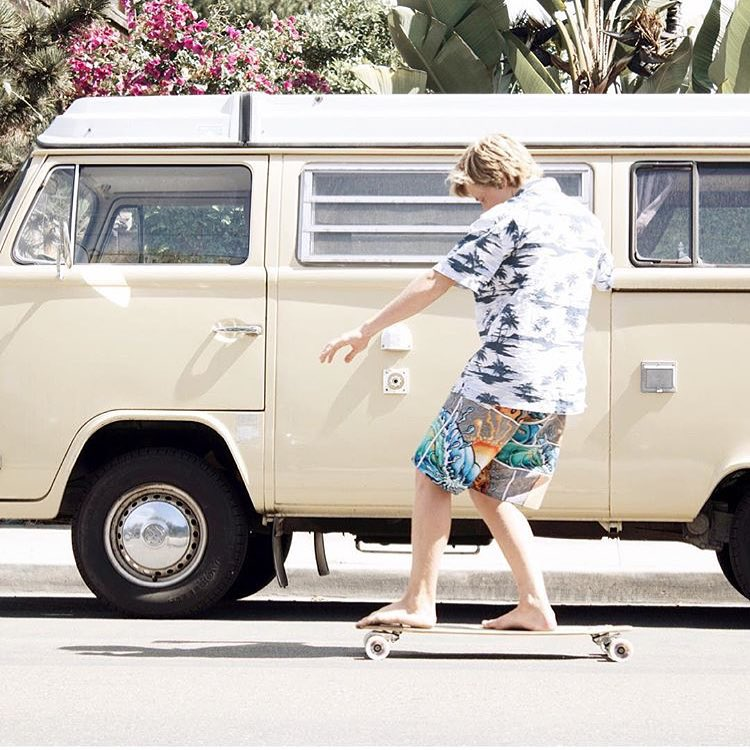 Activist @photosbyjaro cruising in noRep x @drewbrophy boardshorts (aka the most comfortable way to look stylish).