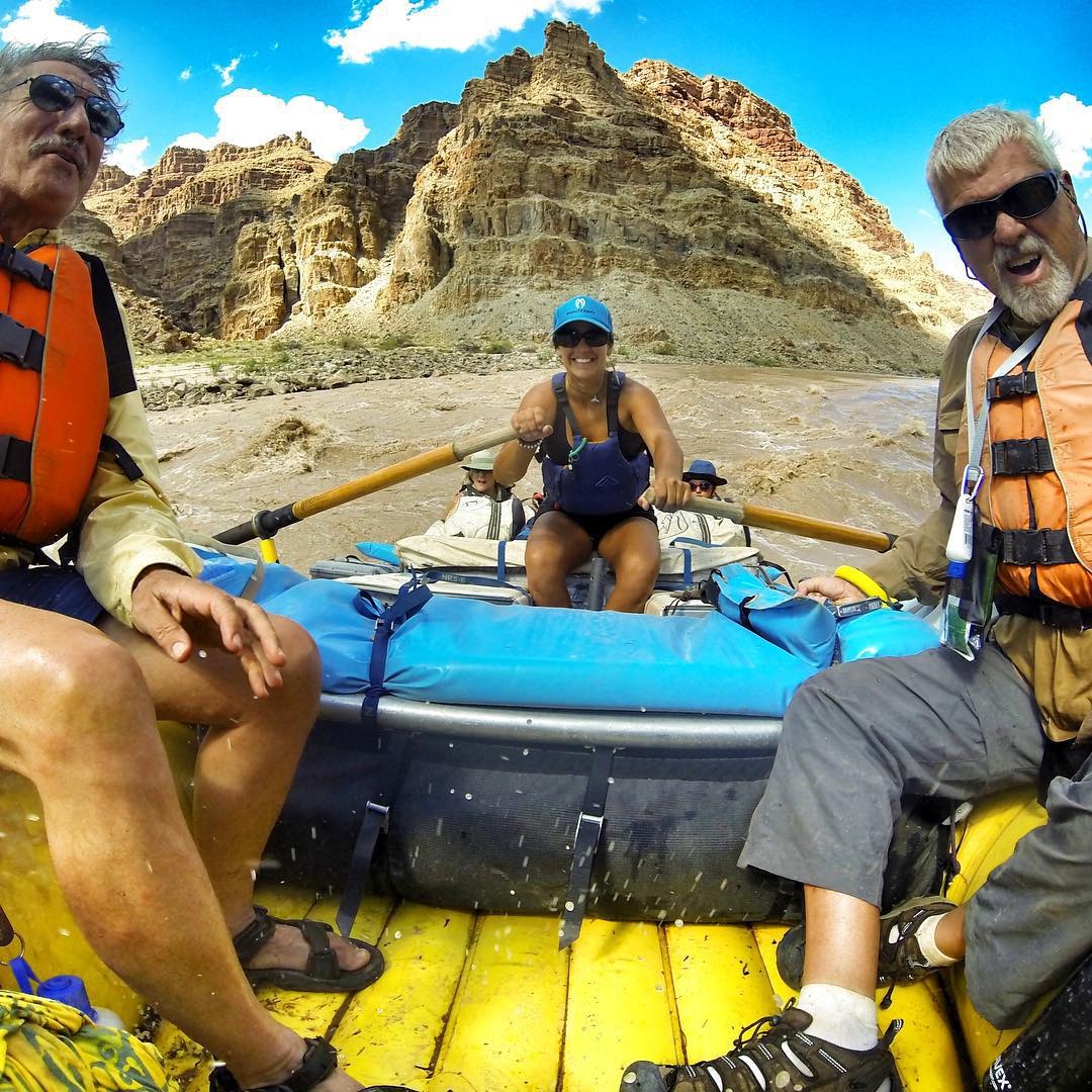 Go Pro Maiden Head! @oars_rafting #cataractcanyon #canyonlands #rafting @gopro #gopro