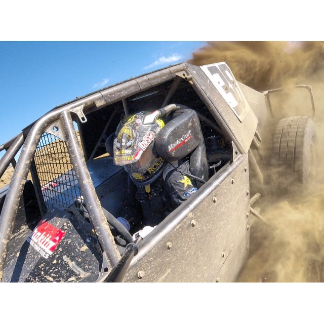 @lucasoiloffroad races are today! Glen Helen. Opening Ceremonies at 7 30 pm! @gopro session selfie
