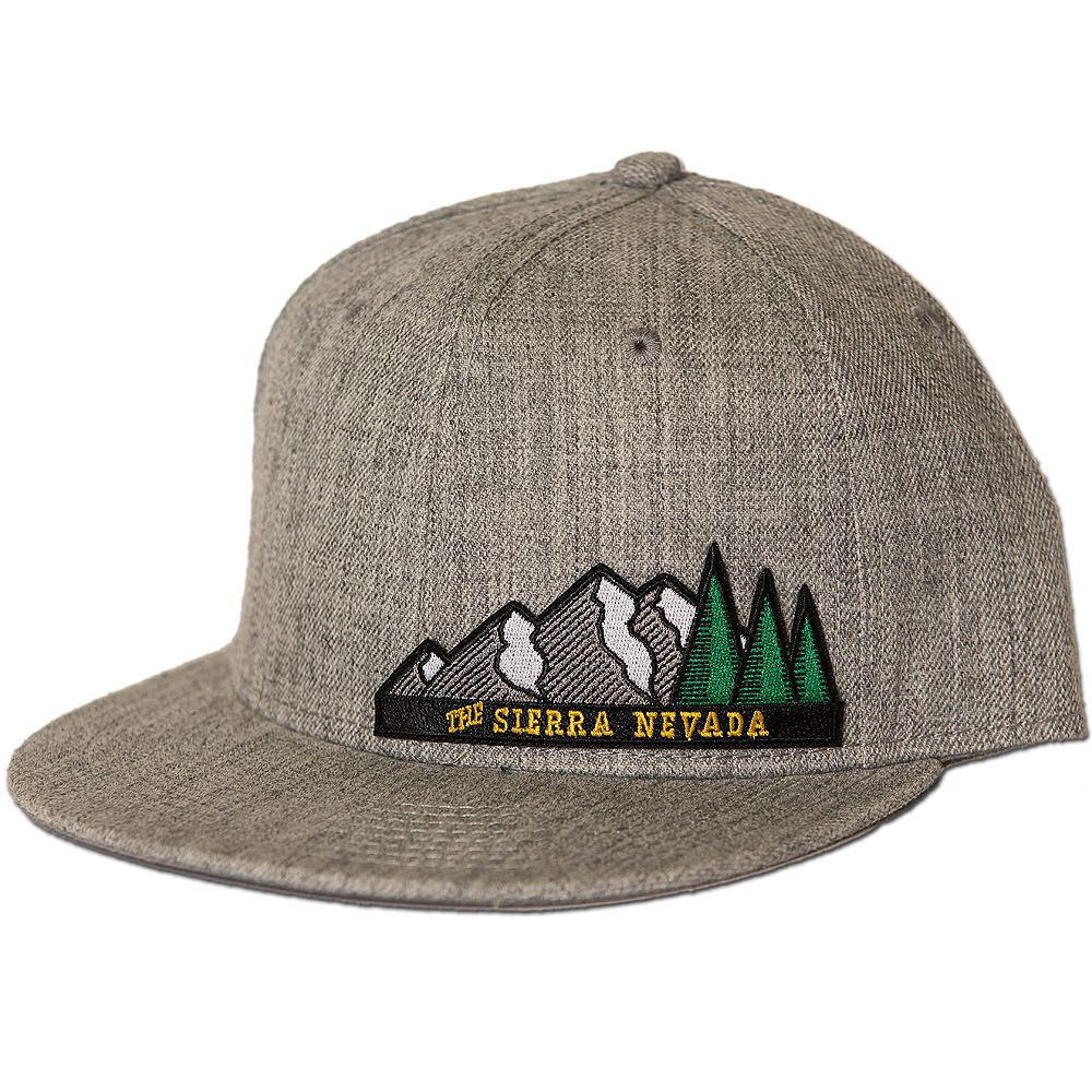 Keep it real in the mountains. #risedesigns #snapback #hat #sierranevada #mountains
