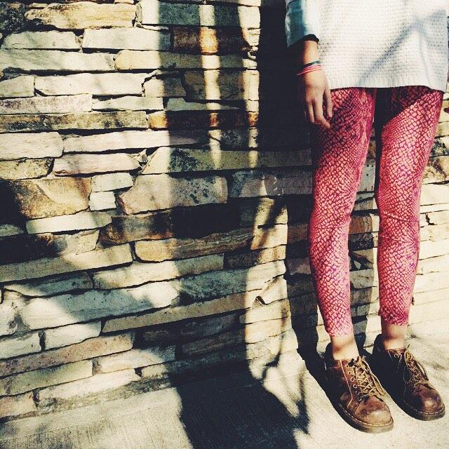 Sunny Winter • Legging Pink