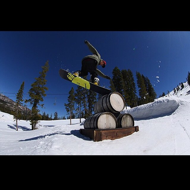 @laneknaack had a great season. Here's a shot from the playground @borealmtn