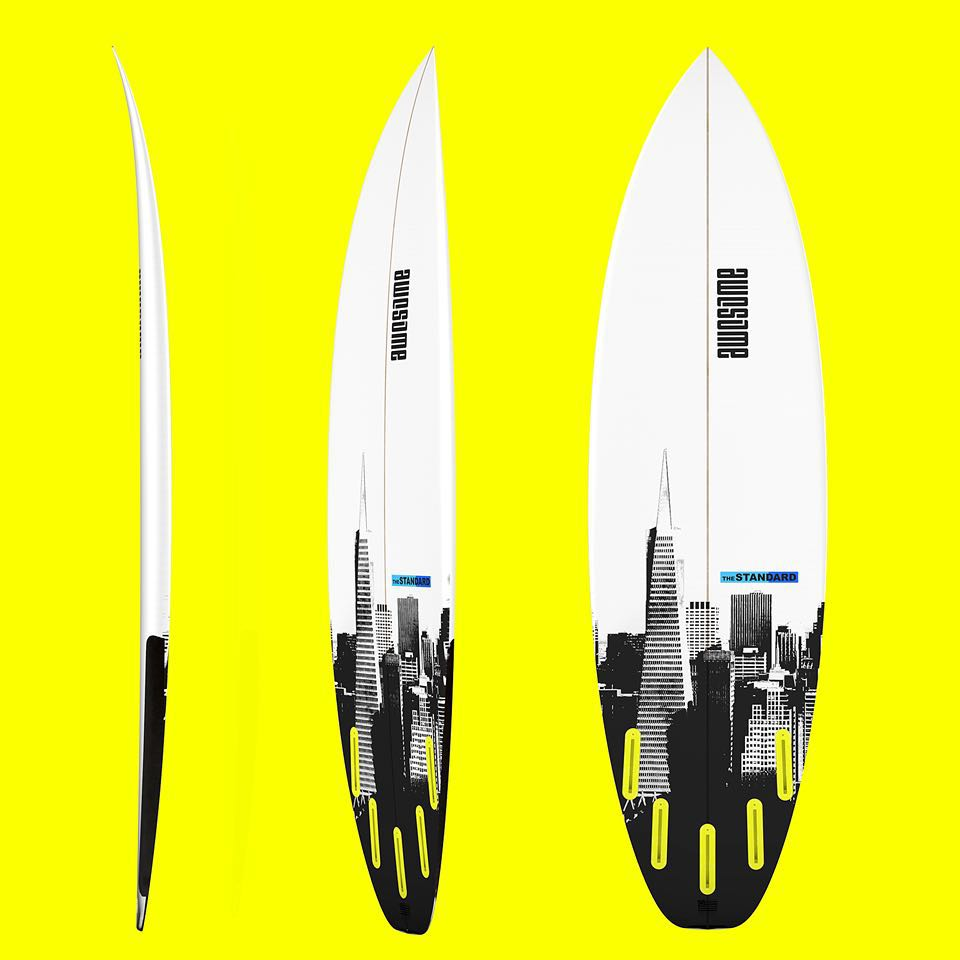 theStandard 5'11 x 19 x 2 5/16 with 27.6L. Performance Shortboard with a wider outline. One of out favorites. #awesome #awesomesurfboards #shredsled #surfing #surf #surfboard#standard