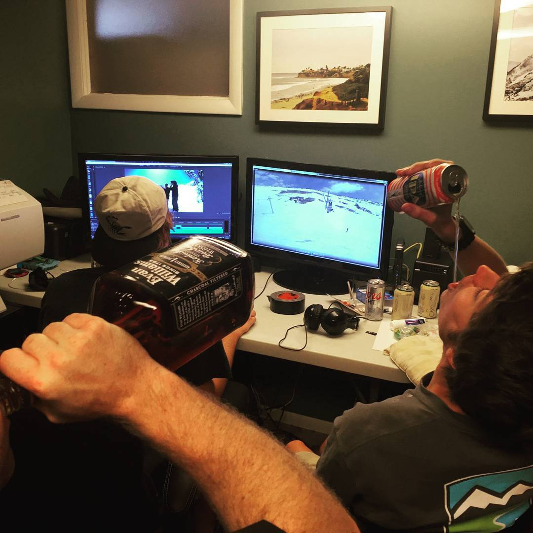 Casual Saturday afternoon in our uptown editing suite.  New website, pre-sale and videos dropping soon!!! #kittenfactory