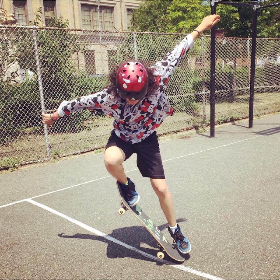 It's a brand new week, start it off right! #challengeyourself #trynewthings #takerisks #skate #skater #skatergirl #skateboard #skateboarding #sk8 #skateeveryday #skatetricks #streetskate #citylife #youth #disney #minniemouse #nyc #la #summer #mentor...
