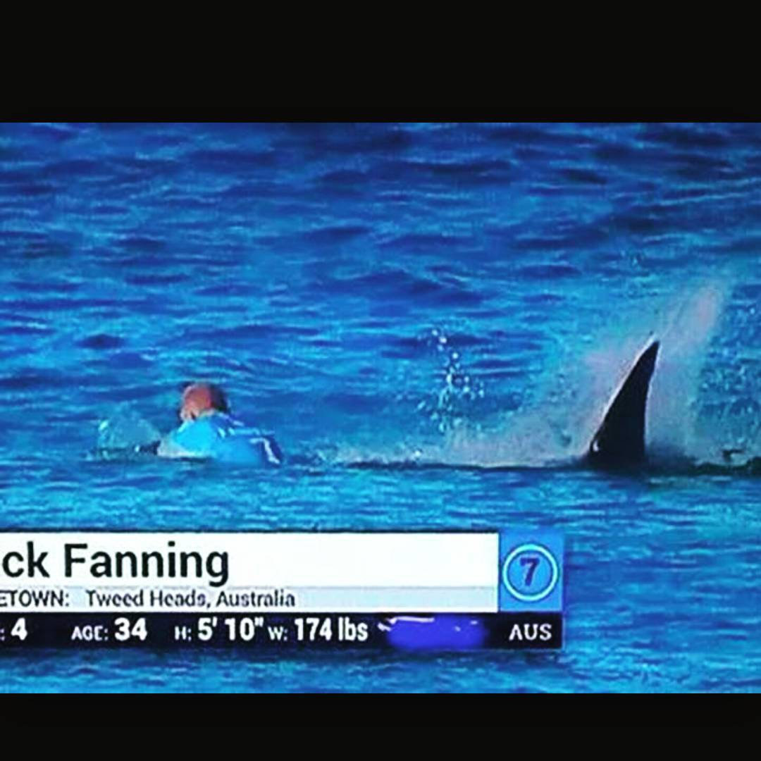 So heavy. One of the greats and one of our favorites, @mfanno we're so relieved you're ok! We all got lucky today.  #jbay #shark #sharkattack #mick #mickfanning #relief #thankful #surf #surfer