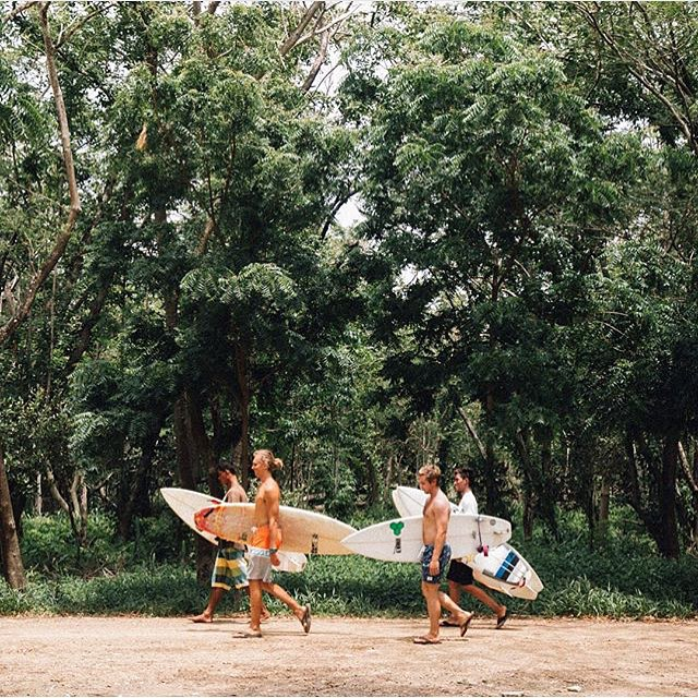 @trankq80 in pursuit of some Nicaraguan surf // #saltwaterbandits #disidual #disiduallivin #distinctindividuals
