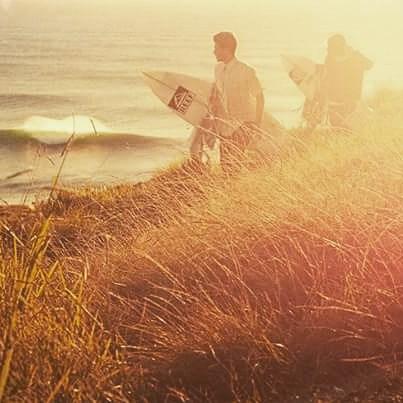 Tarde de surf. El invierno no nos para!