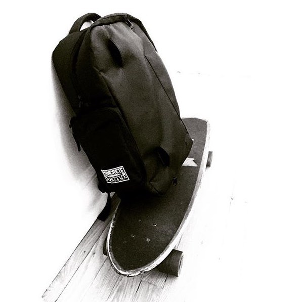 It's #shoutoutsunday once again! Thanks to @acegonew1ld for grabbing out OG backpack! The best skate bag out there! Remember! If you want to be featured on #sos tag us in your photos or use #concretenative. Have a great week! #sk8life #skatelife...