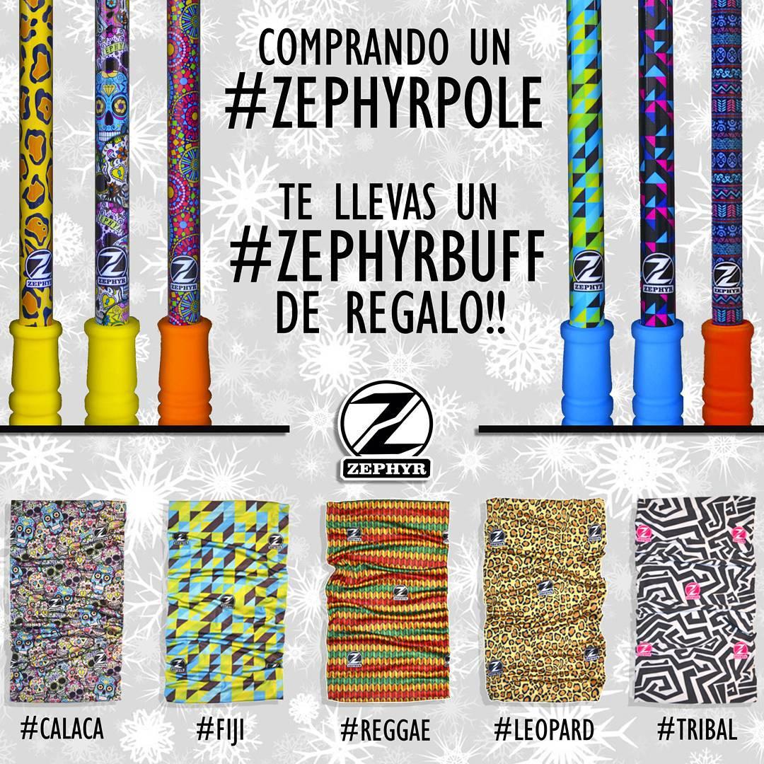 Aprovecha esta oferta hasta el jueves 23 de Julio !! Comprando cualquier #ZephyrPole (Short/Mid/Large) te llevas un #ZephyrBuff de regalo!! - Encontra esta oferta en nuestra Tienda Online!