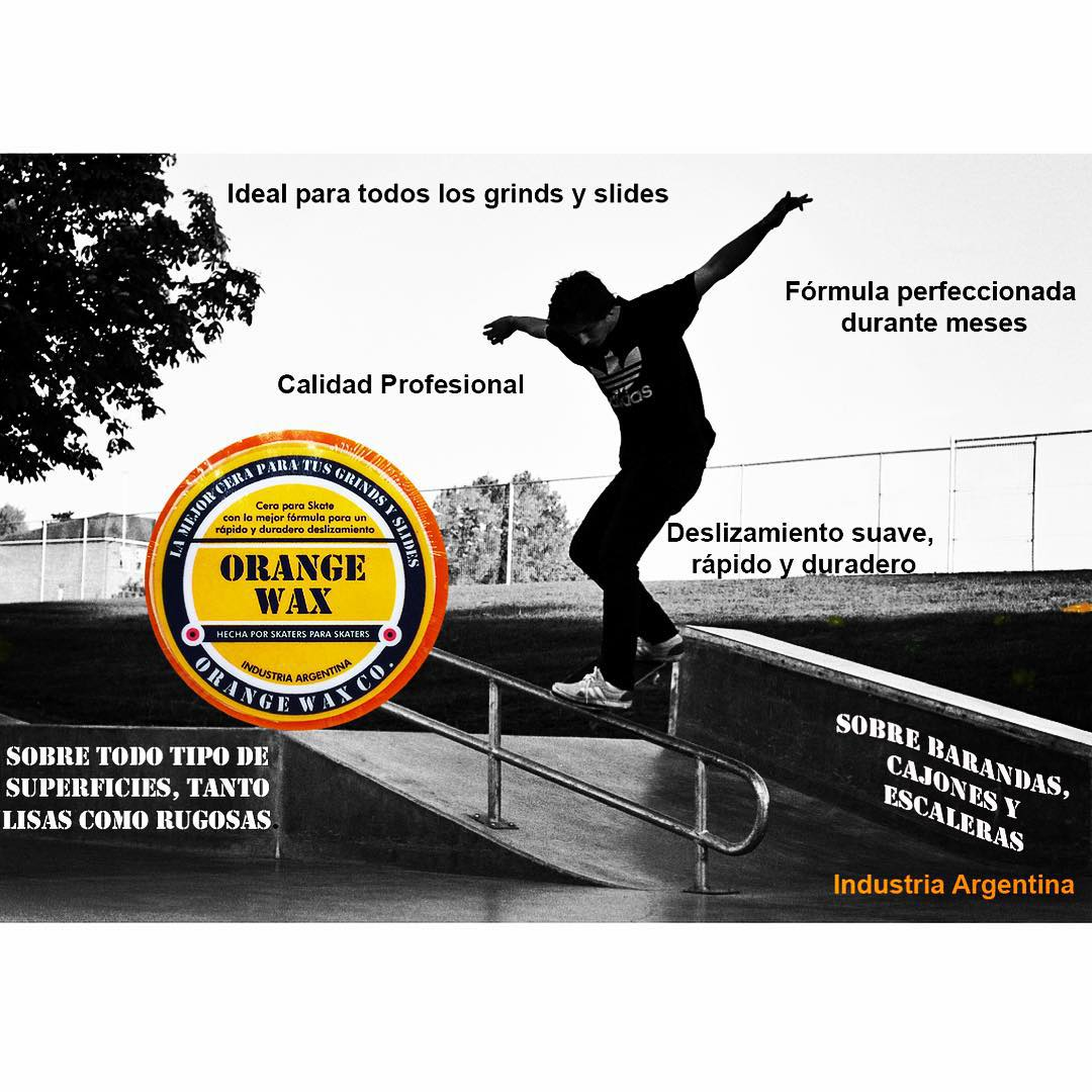 Por que Orange Wax #skateargentino #skateboarding #skatewax #orangeskatewax #skate #orange #orangewaxco