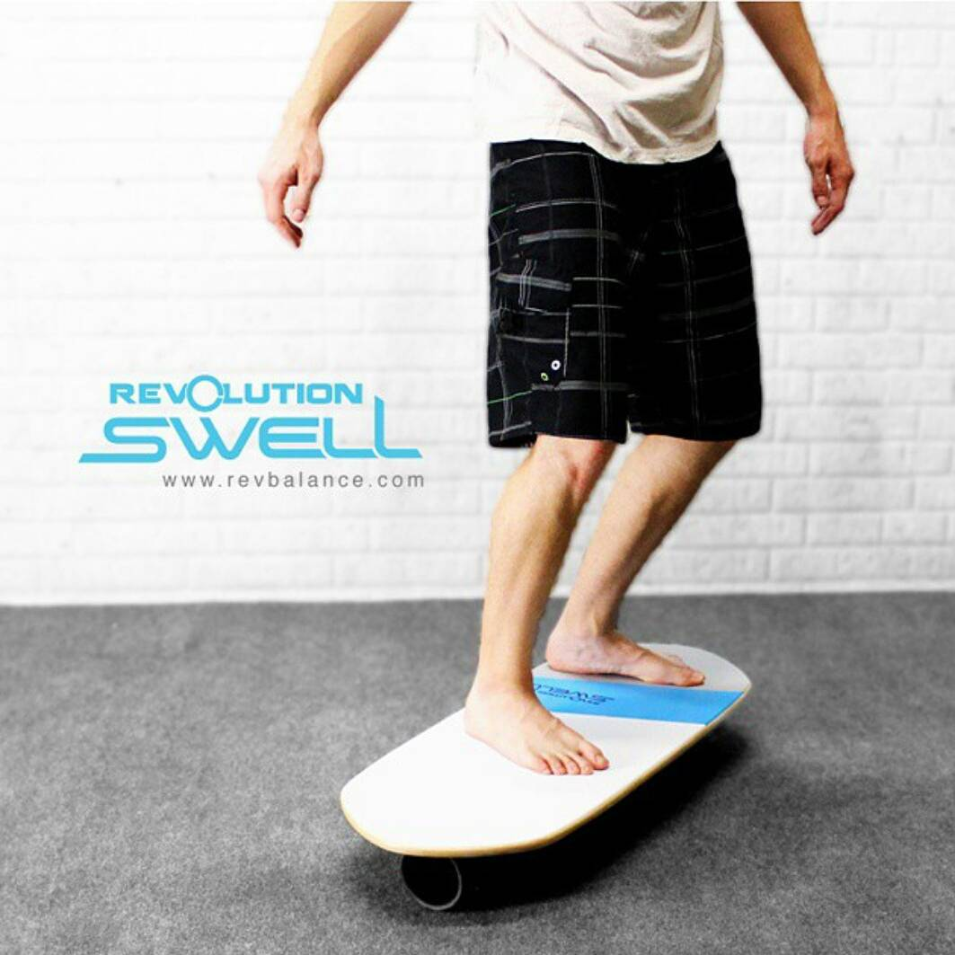 #revbalance #swell #balanceboard for all the #surfers and #boardriders out there!  #findyourbalance #balanceboards #madeinusa #progression #surfing #paddleboarding #sup #wakesurfing #windsurfing #wakeskating #wakeboarding #train #boardsports #ride...