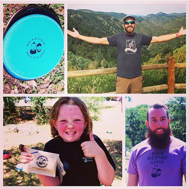Bros before GMOs! Thank you to 1%ftP nonprofit partner @boneshakertx, who works to inspire kids to stay active and lead healthy lifestyles. Plus, @beardedbros gives 1% of sales back to their organization. #regram #healthyplanethealthyyou...