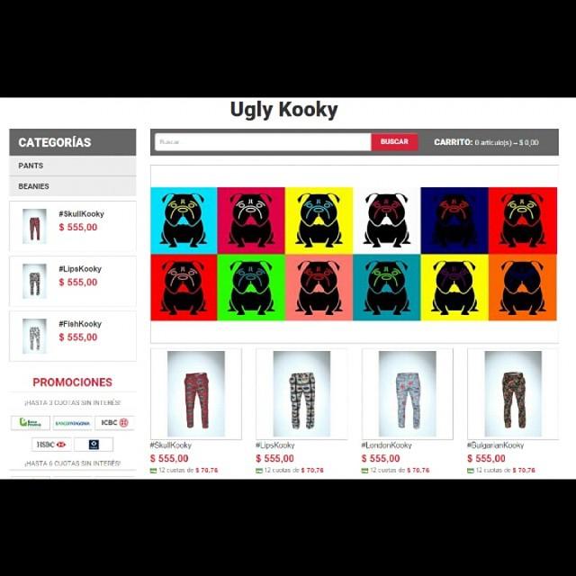 Llego el momento!! Los invitamos a todos a pasar por nuestro sitio web! Www.UglyKooky.Com.Ar. En el podran ver nuestros productos en talles disponibles , abonar de cualquier manera y coordinar todo tipo de envios. esperamos su visita y agradecemos de...