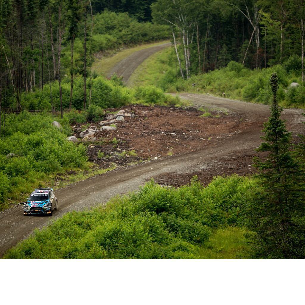 Love this view of one of the northern New England Forest Rally stage roads I raced on this past weekend. #NEFR has such a great variety of fun, fast, and scenic roads. Photo by: @Larry_Chen_foto #epicrallyview #suchscenic