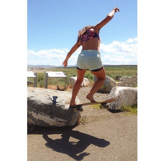 Team rider Yvonne Byers--@yvonzing in her natural habitat!  #yvonnebyers #spunk #bonzing #northerncalifornia