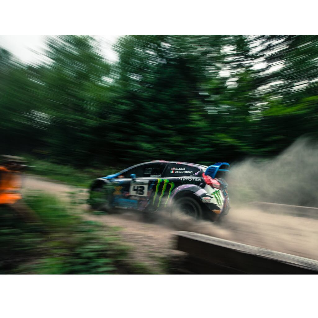 Artsy fartsy panning shot from @Larry_Chen_foto at New England Forest Rally this past weekend. We cross this super narrow bridge (after a big dip in the road) in 5th gear. Sorta sketchy, super fun. #speedblur #NEFR @rallyamericaseries