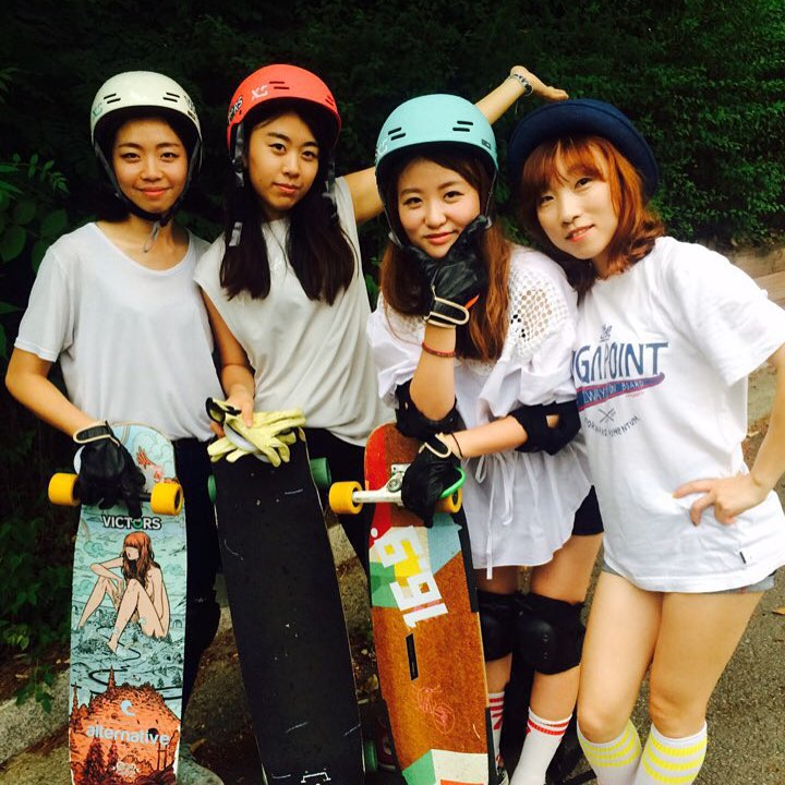 The LGC Korean crew keeps getting stronger! Not only they have positioned themselves as one of the world's best dancers with an incomparable flow but they are now getting into downhill and freeride and we're stoked!  Go to longboardgirlscrew.com and...