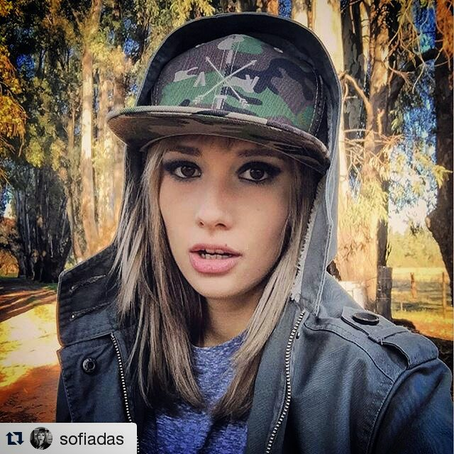 #Repost de la genia, única, figura @sofiadas con su modelo camo exclusivo! ! ・・・ Have a good one  @vitacaps  #VITA #VitaCaps #VitaBeanies #FADU #UBA #School #Good #Work #Design #Caps #Hats #Winter #AW2015 #Amigos #Friends #Aerials #vsco #vscocam...