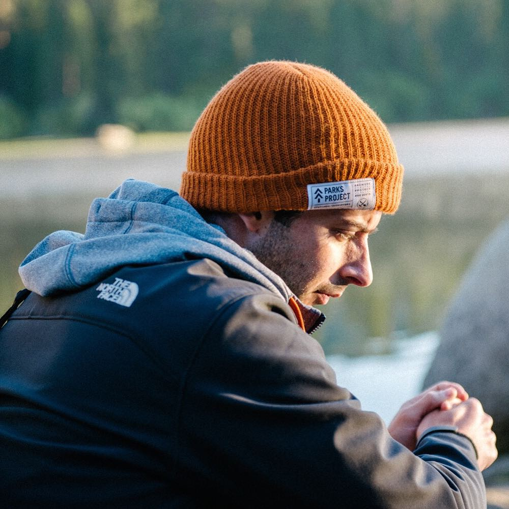 @michaelsee in our Park Watchers Cap at Hume Lake! Photo by @cameron_gardner #radparks #parksproject