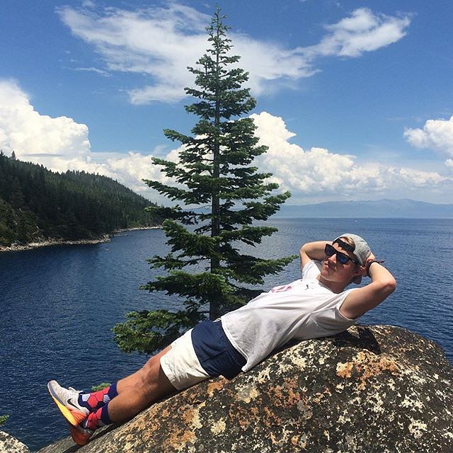Natural #wood. #naturerocks #lakelife #tahoe #grabapair #cali #sweetsocks photocred @krispykremer87